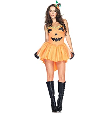 sexy adult halloween costumes cute pumpkin costume