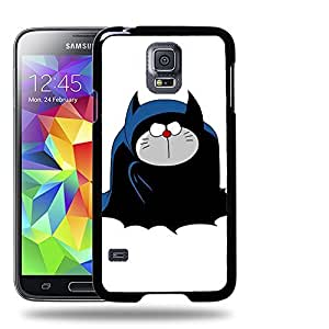 Case88 Designs Batman Doraemon Protective Snap-on Hard Back Case Cover for Samsung Galaxy S5