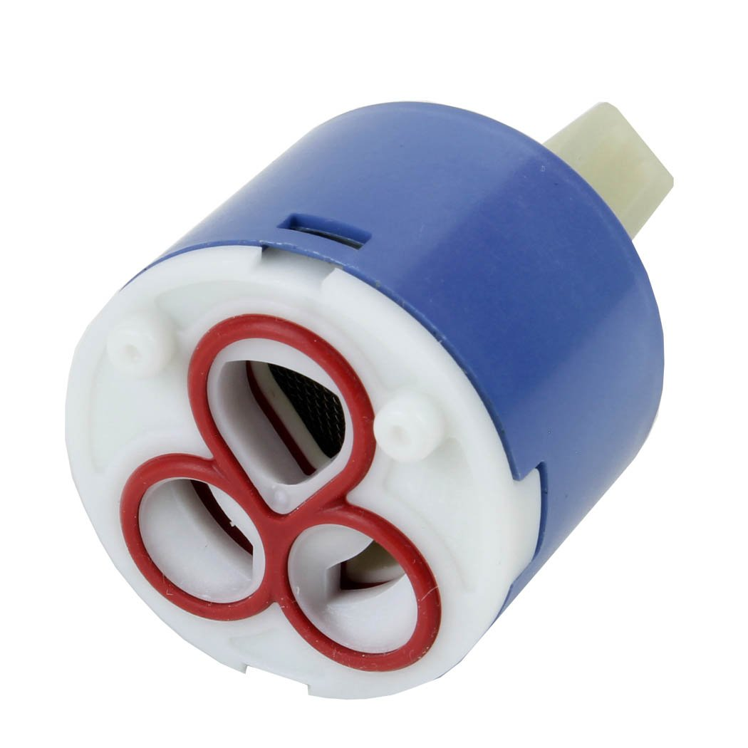 Sanixa - Keramik-Ersatzkartusche für gängige Einhebelmischer, Ø 40 mm