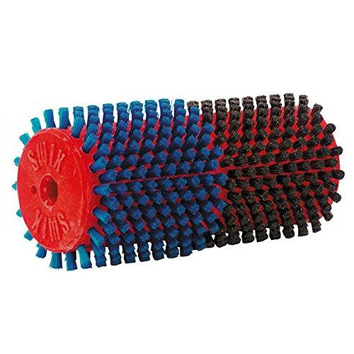 swix-roto-combi-brush-horsehair-blue-nylon-140-mm