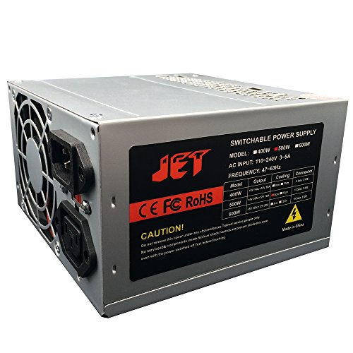 500W Power Supply 13Sata 2IDE for 5bay 7Bay 9bay 10bay 11bay Duplicator Case by Jet Digital