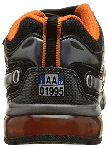 Geox J Android B, Zapatillas para Niños Gris (Grey/orange)