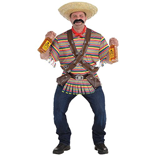 Tequila Bandito Costume - XX-Large - Chest Size 52 -