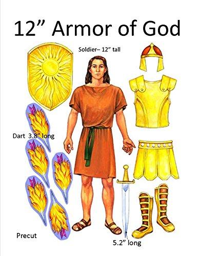 Armor of God Felt Set for Flannel Boards- 12