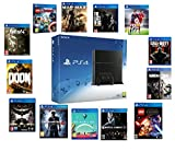 Sony PlayStation 4 PS4 500gb CHOOSE THREE GAMES CUH 1216A *NEW* 12 Month Manufacturer Warranty Jet Black