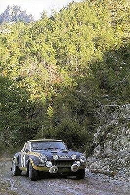 - 1976 FIAT Abarth 124 Rally Sport Spider - Monte Carlo - Photo Poster