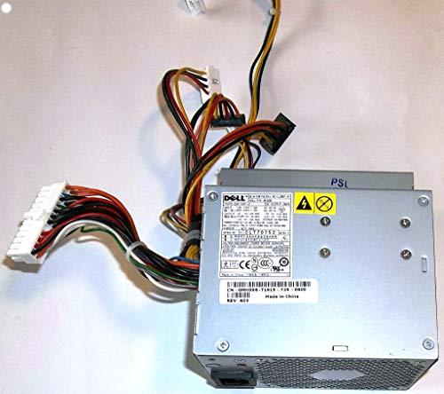 Dell Part Numbers - Genuine Dell 280W Desktop Optiplex GX520, GX620, 740, 745, 755, 210L, 320, 330, Dimension C521, 3100C, New Style GX280, Power Supply Unit PSU