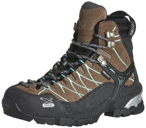 Salewa Alp Trainer hiking shoes Ladies brown/blue