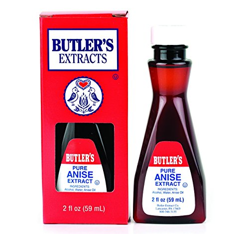 - Butler's Pure Anise Extract, 2 Oz. Bottle