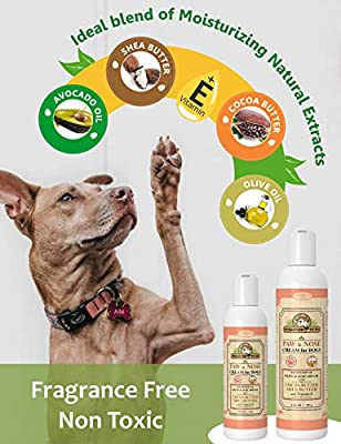 Pet Cream - Anti Itch Moisturizing Nose & Paw Cream For Dogs - Works Against Rashes, Dry Nose/Paws - Accelerates Healing Process For Paw & Nose Skin - Natural Odor Dog Cream By Makondo Pets