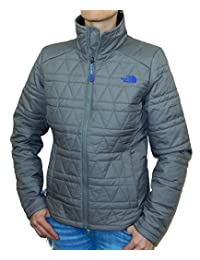 The North Face Womens DANI Insulated Jacket Black (Small, Pache Grey)
