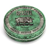 REUZEL Green Pomade Grease, Medium Hold, 4