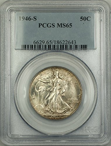 1946 S Walking Liberty Half Dollar Half Dollar PCGS MS-65