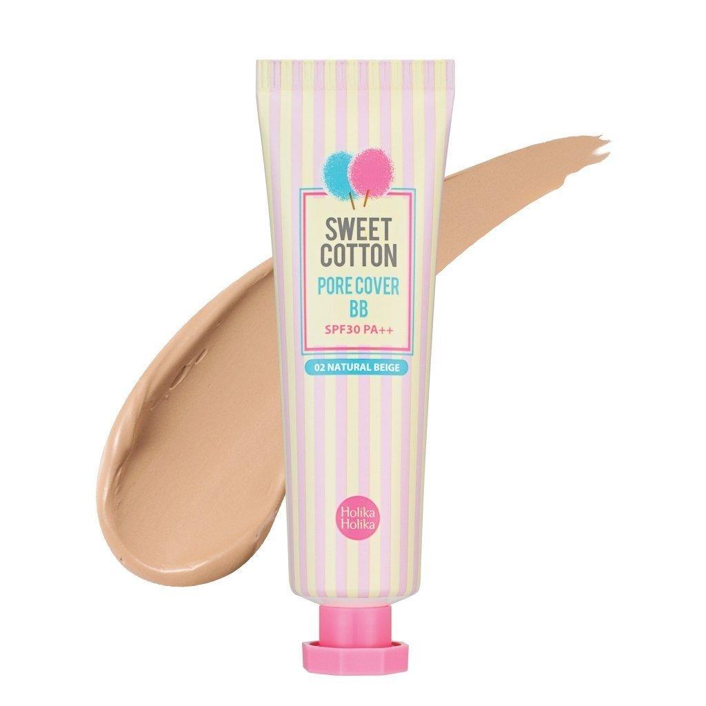 holika holika® - Sweet Cotton Pore Cover BB Cream - BB crema con extracto de diseño, Lemon y azúcar Arce para un makelloses piel de para Mujeres Con SPF30 ...