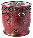 Räuchergefäß 'Jali' rot 9x10cm Speckstein