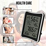 BENGOO-Indoor-Humidity-Monitor-Thermometer-Digital-Hygrometer-Monitor-with-Stand-and-Large-LCD-Display-Works-in-Celsius-and-Fahrenheit-for-Home-Living-Room-Offic-Black