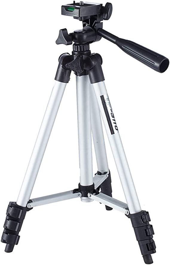 Adjustable Height JIN Tripods Live Broadcast Tripod 4-Section Folding Legs Aluminum Alloy Tripod Mount with U-Shape Three-Dimensional Tripod Head for DSLR /& Digital Camera 35-106cm