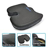 Plixio Memory Foam Seat Cushion - Chair Pillow for