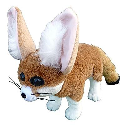 "Adore 18"" Standing Espresso The Fennec Fox Plush Stuffed Animal Toy: Toys & Games"