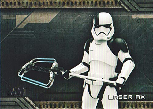 2018 Topps Star Wars Galactic Files Weapons #W-9 Laser Ax ()