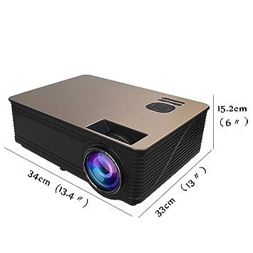 Proyector LED HD de 3000 lúmenes JCOCO: Amazon.es: Electrónica