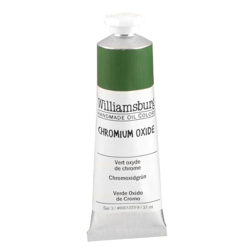 Williamsburg  油絵の具 37 Ml Tube WB60012239 B0006OJCIG 37 Ml Tube Chromium Oxide Green Chromium Oxide Green 37 Ml Tube