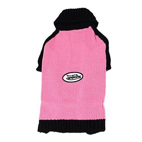 Aquecimento DealMux Acrlico Household Outono-Inverno do co de filhote Knit Sweater Roupa Vesturio