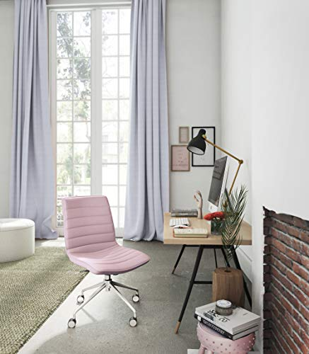 ELLE Décor Adelaide Task Chair, French Pink