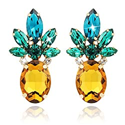 Hawaiian Pineapple Earrings for Women