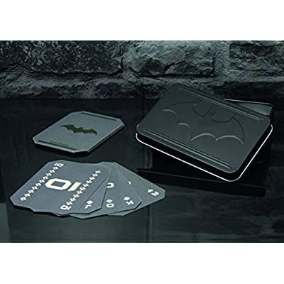 Paladone Batman Playing Card | Set of 52 | Ideal for Games, Poker & Blackjack | Includes Collectors Embossed Storage Tin: Toys & Games