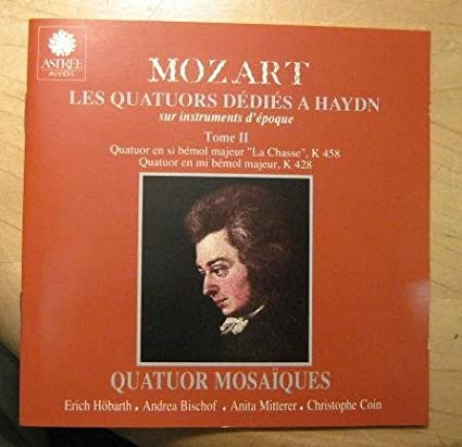Mozart: The Quartets Dedicated to Haydn, K. 458 & 428, Vol. 2