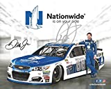 AUTOGRAPHED 2017 Dale Earnhardt Jr. #88 Nationwide Series Racing FINAL SEASON (Monster Energy Cup Series) Hendrick Motorsports Signed Collectible Picture NASCAR 8X10 Inch Hero Card Photo with COA