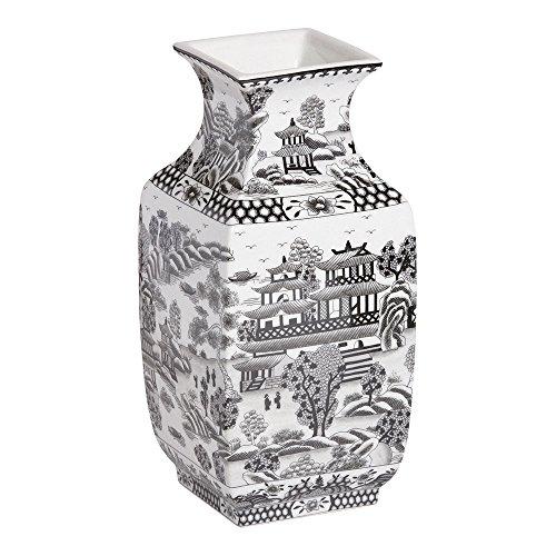 orcelain Vase, Black ()