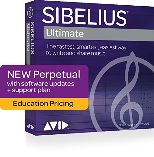 Avid Sibelius Ultimate Perpetual License Educational Version