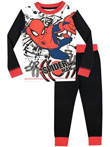 Spiderman Boys' Pajamas Size 6 Multicolored