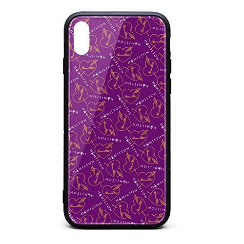 Hamilton- iPhone Cover Hard Custom Cell iPhone x xs case