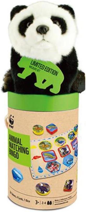 WWF 091-pan ボードゲーム ビンゴセット パンダのぬいぐるみ