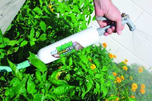 Camco GardenPURE Carbon Water Hose Filter -Filters Water From Your Garden Hose to Improve Plants Health and Provide Fresh Water for Pets and Animals- Great for Gardening and Farming (40691)