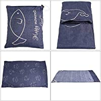 KROWMAET Sleeping Bag Liner Lightweight Sleeping Bag Sheet Sleep Sack for Travel Hiking Camping Sheets Adults Full Size 83x30 Inches