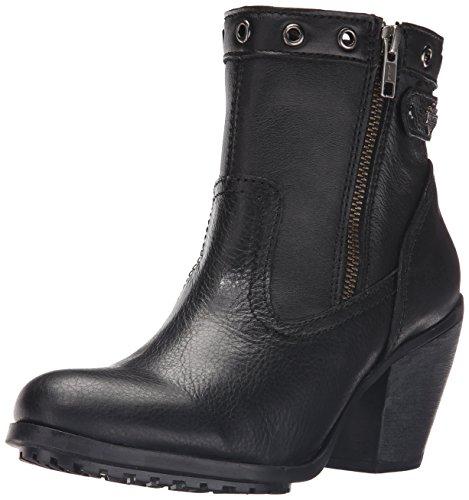 Harley Davidson Women's Inwood Work Boot - Black - 8.5 B(...
