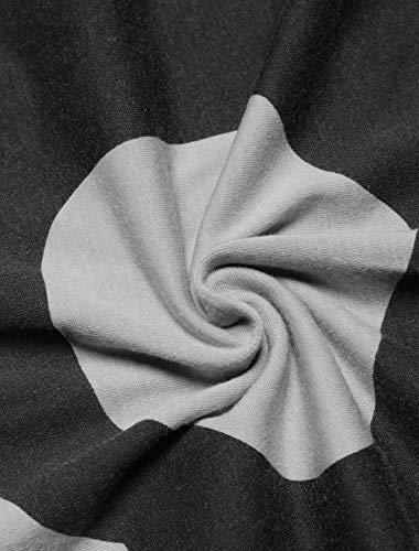 Lunga Di Ragazza Camicette Del Donna Cranio Camicetta Accogliente Rotondo Estivi Stampate In Elegante Basic Casual Top Moda Pattern Manica Grau Camicia Alto Collo wa7xUfqFSS