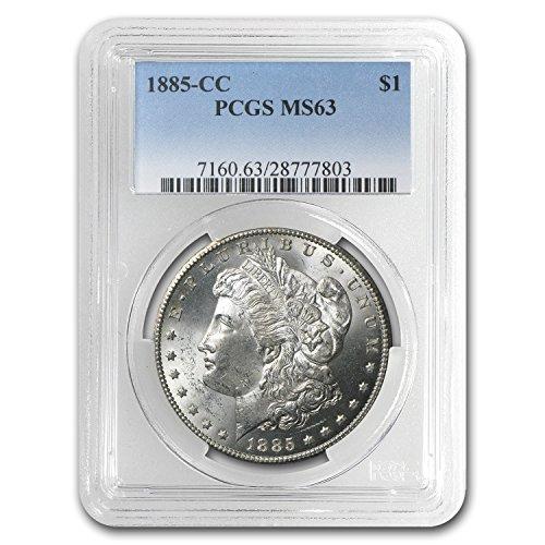 1885 CC Morgan Dollar MS-63 PCGS $1 MS-63 PCGS