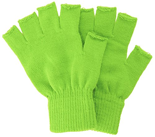 Men/Women's Thick Knit Solid Colored Cuffed Fingerless