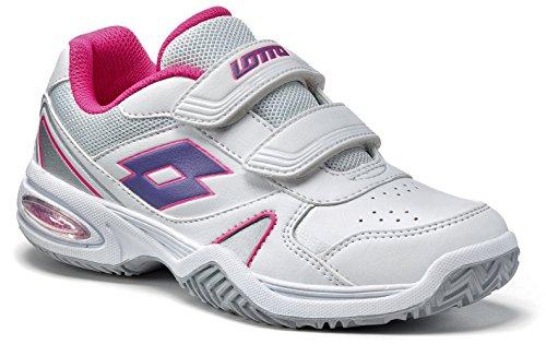 Lotto sTRATOSPHERE child p., unisexe-enfant-blanc/violet-modèle 2015