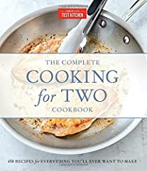 "The Complete Cooking for Two Cookbook (more than 250,000 copies sold) is coming out in a luxe, hardcover gift edition -- perfect for engagements, weddings, and graduations. For decades, the rule of thumb for recipes has been ""serves 4 to 6,"" ..."