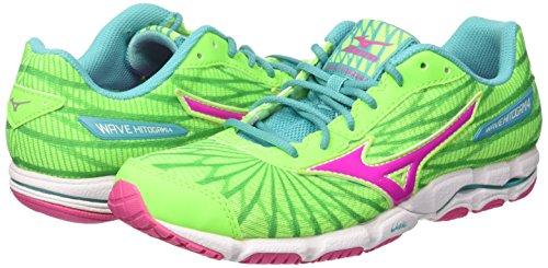 Chaussures Multicolore ceramic Wave Hitogami Running electric greengecko De Femme W Mizuno 1t0n0p