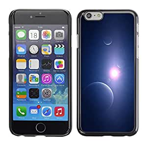 Planetar® ( That Middle Light Beam ) Apple iPhone 6 / 6S (4.7 inches!!!) Fundas Cover Cubre Hard Case Cover