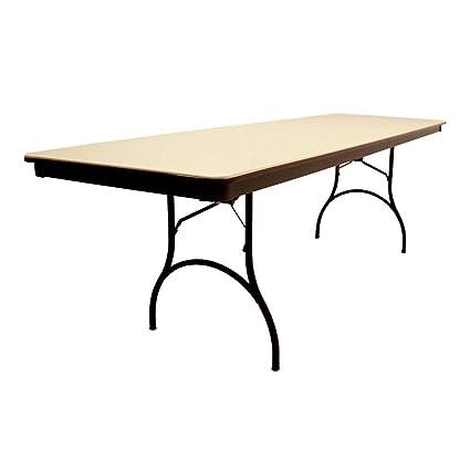 Awe Inspiring Mitylite 30X96 Rectangular Abs Folding Table Arrives Fully Assembled Interior Design Ideas Gentotryabchikinfo