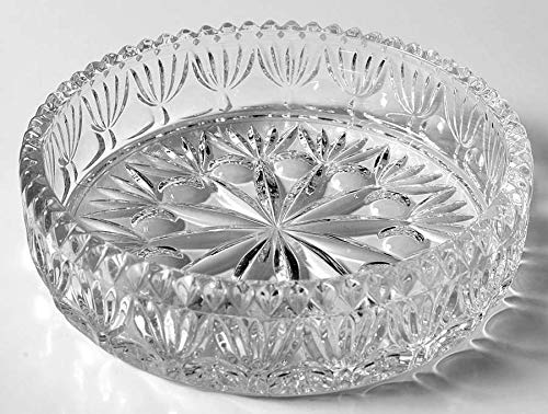 (Princess House Exclusive 24% Lead Crystal Highlights Pattern Nappy Bowl)