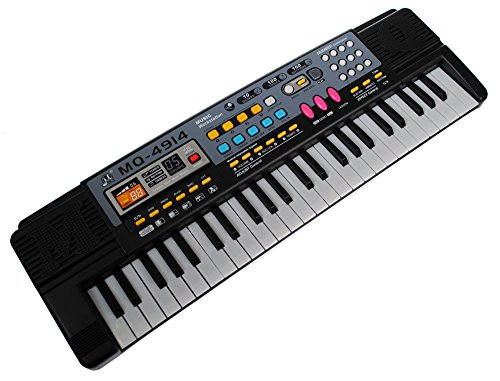 MQ-4914 49 Key Childs Toy Mini Electronic Keyboard - Music Workstation Mini Childrens Piano